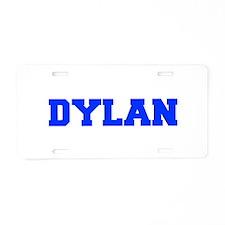 DYLAN-fresh blue Aluminum License Plate