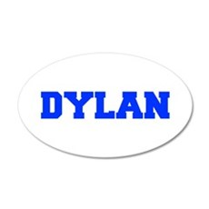 DYLAN-fresh blue Wall Decal