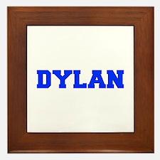 DYLAN-fresh blue Framed Tile