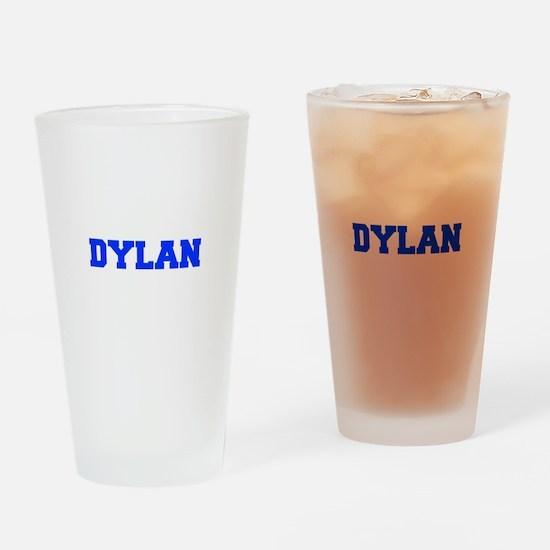 DYLAN-fresh blue Drinking Glass