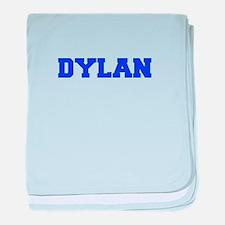 DYLAN-fresh blue baby blanket