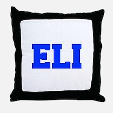 ELI-fresh blue Throw Pillow