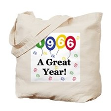 1966 A Great Year Tote Bag