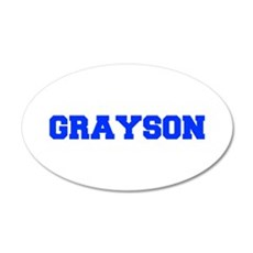 GRAYSON-fresh blue Wall Decal