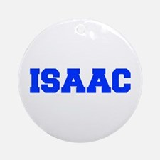 ISAAC-fresh blue Ornament (Round)