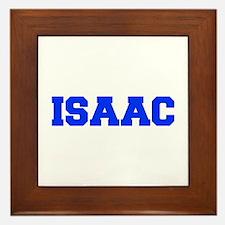 ISAAC-fresh blue Framed Tile