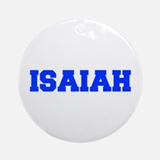 ISAIAH-fresh blue Ornament (Round)