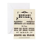 Smokers & Chewers Greeting Cards (Pk of 10)
