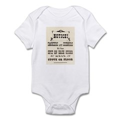 Smokers & Chewers Infant Bodysuit