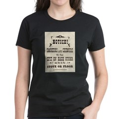 Smokers & Chewers Women's Dark T-Shirt