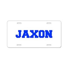 JAXON-fresh blue Aluminum License Plate