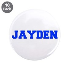 "JAYDEN-fresh blue 3.5"" Button (10 pack)"