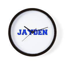 JAYDEN-fresh blue Wall Clock