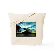 Bora Bora Sunset Tote Bag