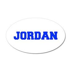 JORDAN-fresh blue Wall Decal
