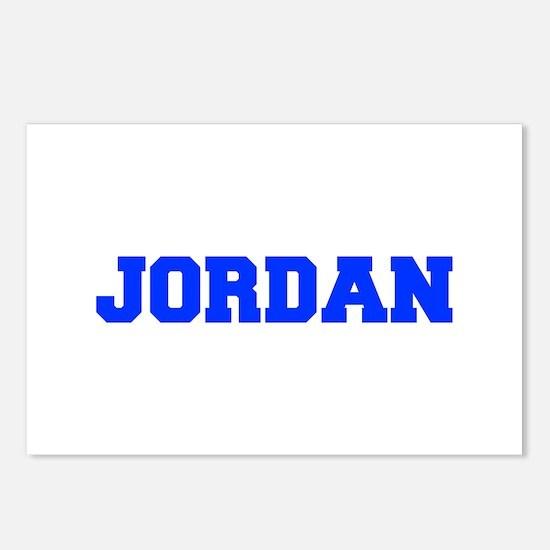 JORDAN-fresh blue Postcards (Package of 8)