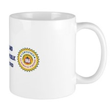 State flag and Certification Ceramic Mug