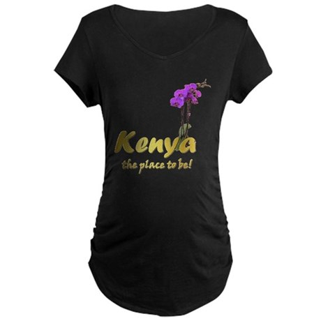 Kenya Goodies Maternity Dark T-Shirt