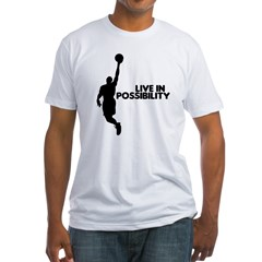Live in Possibility Fitted T-Shirt
