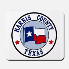 Harris County Texas Mousepad