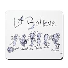 La Boheme: The Mousepad