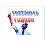 Freedumb Fighter Bush Small Poster