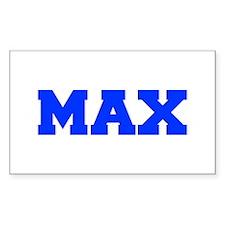 MAX-fresh blue Decal