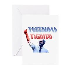 Freedumb Fighter Bush Greeting Cards (Pk of 10