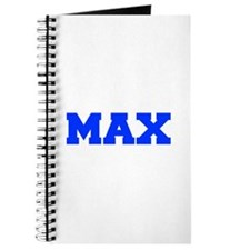 MAX-fresh blue Journal