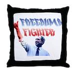 Freedumb Fighter Bush Throw Pillow