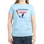 Freedumb Fighter Bush Women's Light T-Shirt