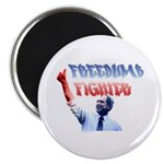 Freedumb Fighter Bush Magnet