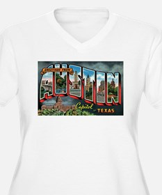 City Of Austin Postcard T-Shirt