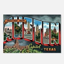City Of Austin Postcard Postcards (Package of 8)