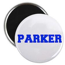 PARKER-fresh blue Magnets