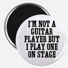 "I'm not a guitar player but I 2.25"" Magnet (100 pa"