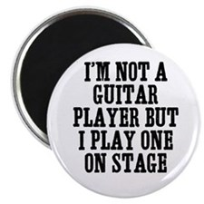 "I'm not a guitar player but I 2.25"" Magnet (10 pac"