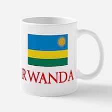 Rwanda Flag Design Mugs