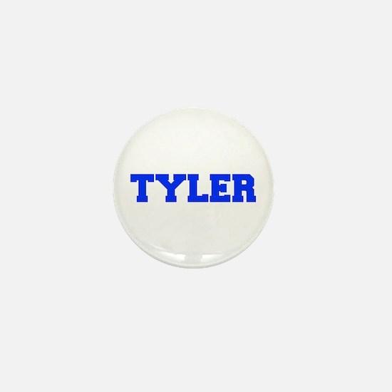TYLER-fresh blue Mini Button