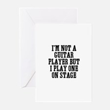 I'm not a guitar player but I Greeting Cards (Pack