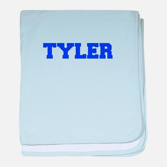 TYLER-fresh blue baby blanket