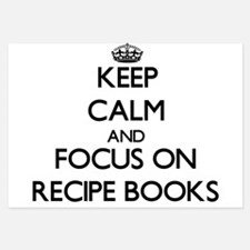 Keep Calm and focus on Recipe Books Invitations