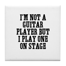 I'm not a guitar player but I Tile Coaster