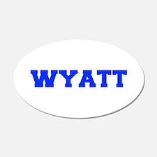 WYATT-fresh blue Wall Decal