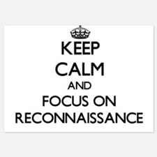 Keep Calm and focus on Reconnaissance Invitations