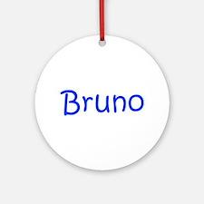 Bruno-kri blue Ornament (Round)