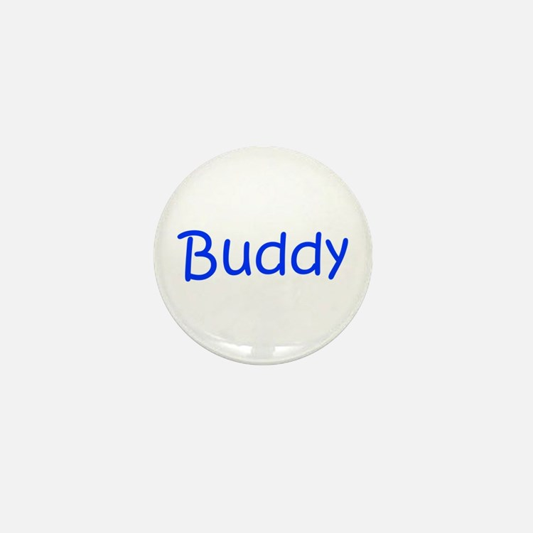 Buddy-kri blue Mini Button