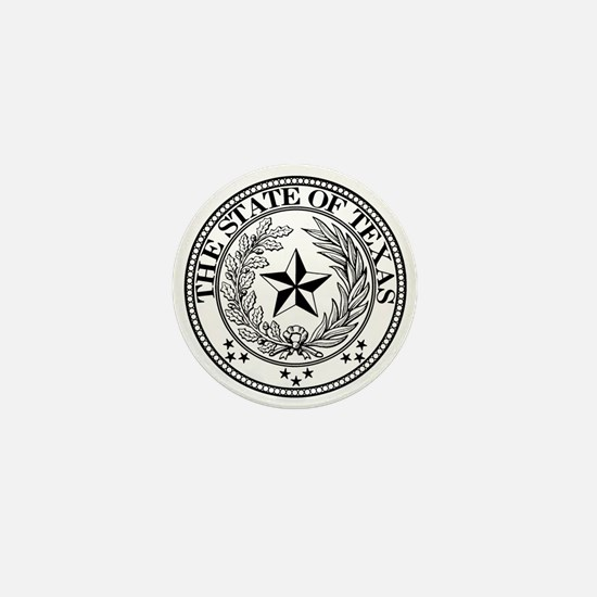 Texas State Seal Mini Button (10 pack)