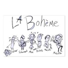 La Boheme: The Postcards (Package of 8)