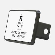 Keep Calm I'm a Juego de Mani Instructor Hitch Cov